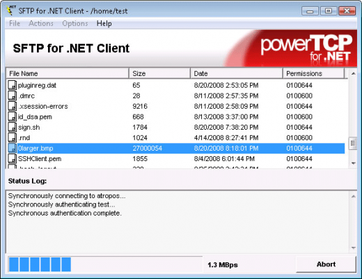 About PowerTCP SSH and SFTP for .NET