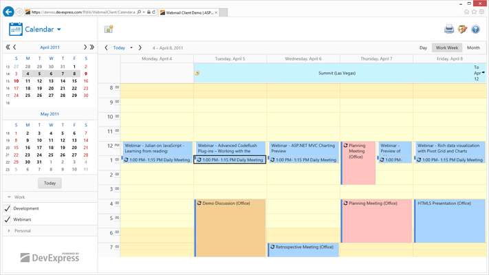 About ASPx Scheduler