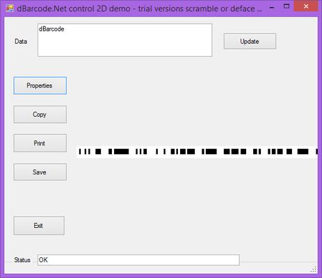 About dBarcode.NET GS1 Databar