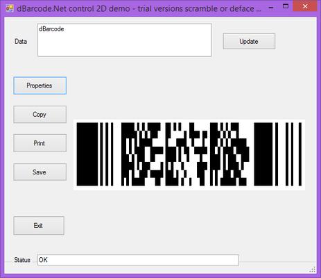 About dBarcode.NET PDF417