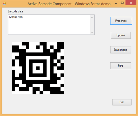 About Active 2D Barcode Component - Aztec