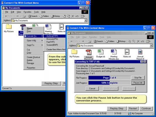 About PEERNET File Conversion Center