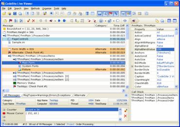 Raize Software releases CodeSite V4.5
