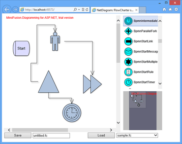 MindFusion NetDiagram V5.4.1 released