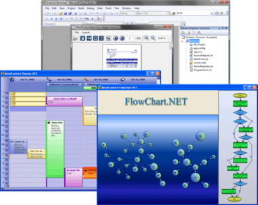 Fusion for Windows Forms adds Visio Stencils
