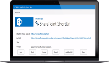 SharePoint ShortUrl 8 released