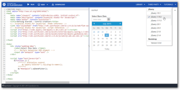Syncfusion Essential Studio for JavaScript 2015 Vol 2 released