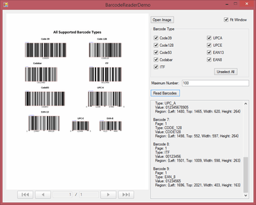 Barcode Reader released