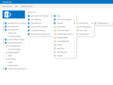 SharePoint Navigation Tools released