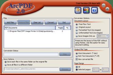 ArcPDF now available