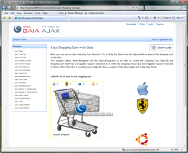 Gaia Ajax V3.6 released
