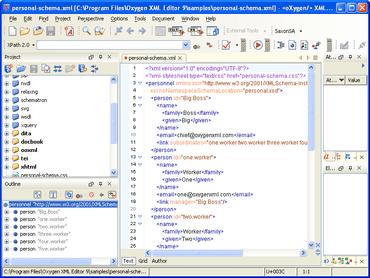oXygen XML Editor updated