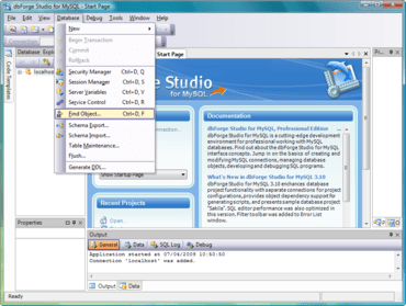 dbForge Studio for MySQL updated
