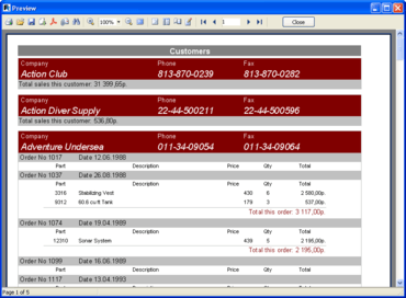 FastReport VCL updated to V4.9