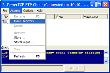 PowerTCP FTP now supports all DEP OSs