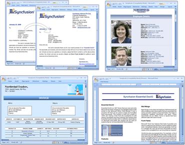 Edit Word 2007 documents in Silverlight