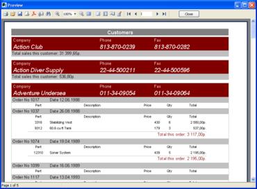 FastReport adds RAD Studio XE support