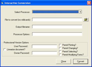 DocConverter adds two-way PDF conversion