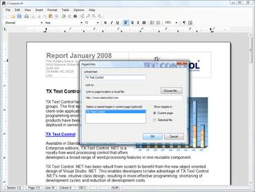 TX Text Control .NET adds data binding