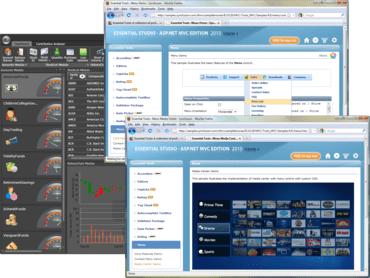 Syncfusion Essential Tools supports MVC3
