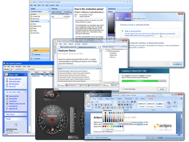 Actipro WPF Studio adds 2D QR Code