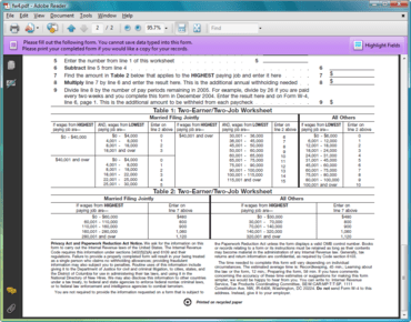 PDF4NET adds XDP format support