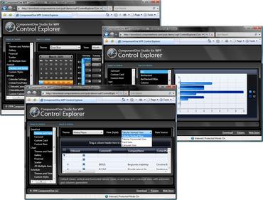C1 WPF 2011 v1 adds 4 new controls