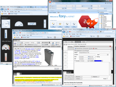 C1 Studio for ASP.NET Wijmo adds HTML5 Scheduler