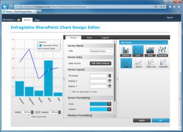 NetAdvantage for SharePoint adds Tabular Grid