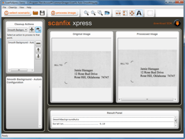 ScanFix Xpress .NET improves Document Processing