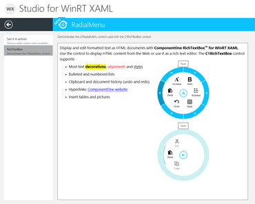 ComponentOne 2013 v2 adds new WinRT XAML Controls
