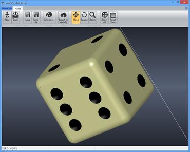 WebGL-Publisher improves Exporting