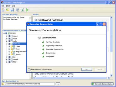 SQL Doc improves HTML Formatting
