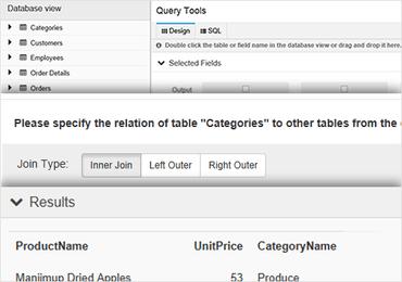 ActiveReports 9 adds Visual Query Designer