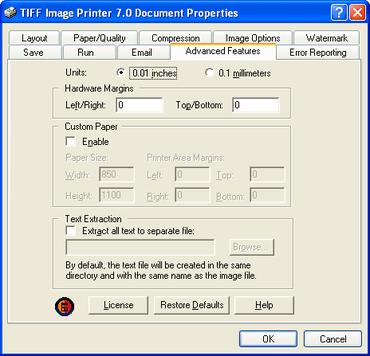 PEERNET patches TIFF Image Printer