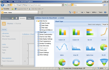 Collabion Charts for SharePoint updated