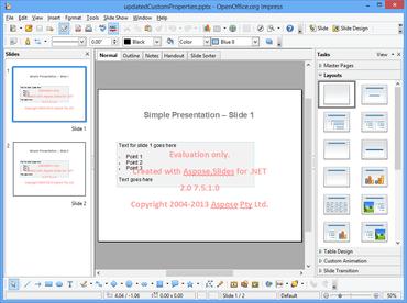Aspose.Slides for .NET updated