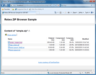 Rebex ZIP for .NET updated