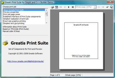 Print Suite now available