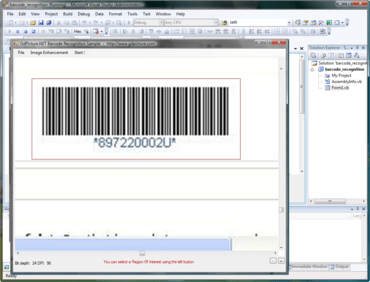 1D Barcode Recognition Plugin released