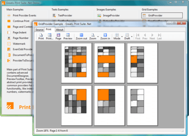Print complex documents from .NET apps
