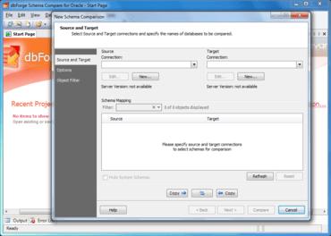 dbForge Schema Compare for Oracle