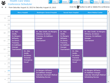 Appointment & Calendar Scheduling in One Control
