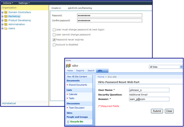 SharePoint Password Reset released