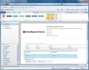 ActiveReports 8 Server released