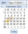 Date/Time control