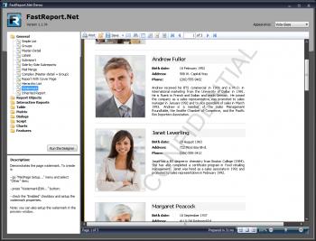 Advert for FastReport.Net WinForms + WebForms