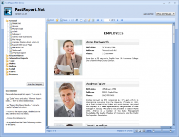 Advert for FastReport.Net WinForms