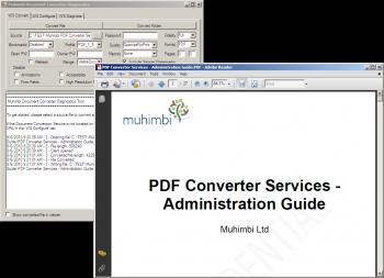 Advert for Muhimbi PDF Converter Services