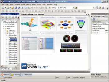 Advert for Nevron .NET Vision Enterprise